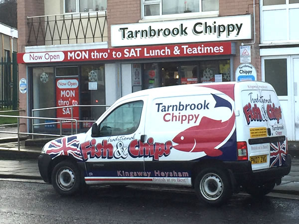 Tarnbrook Award Winning Fish and Chip Shop